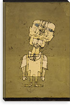 Ghost of a Genius, 1922 By Paul Klee Canvas Print #15240