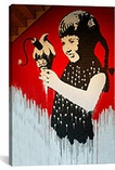Girl With Dynamite Ice Cream By Banksy Canvas Print #2057