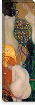 Goldfish By Gustav Klimt Canvas Print #14027