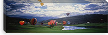 Hot Air Balloons, Snowmass, Colorado, USA #PIM1120