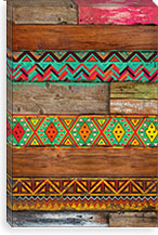 Indian Wood By Maximilian San Canvas Print #MXS7