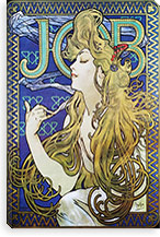 Job, 1896 By Alphonse Mucha Canvas Print #15275