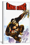 King Kong Vintage Movie Poster Canvas Print #5111