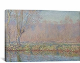 Le Saule By Claude Monet Canvas Print #1043