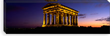 Low Angle View Of A Building, Penshaw Monument, Durham, England, United Kingdom #PIM4974