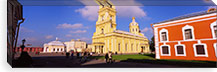 Low angle view of a cathedral, Peter and Paul Cathedral, Peter and Paul Fortress, St. Petersburg, Russia #PIM6283