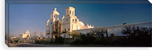 Low angle view of a church, Mission San Xavier Del Bac, Tucson, Arizona, USA #PIM8634