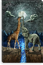 Magical Forces of the Moon Canvas Print #2 By Maximilian San Canvas Print #MXS1