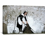 Maid in London By Banksy Canvas Print #2021