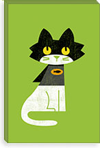 Mark Batcat By Budi Satria Kwan Canvas Print #13814