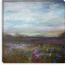 Meadow By Symposium Design Canvas Print #14230