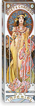 Mo�t & Chandon Dry Imperial (1899) By Alphonse Mucha Canvas Print #15173