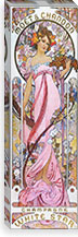 Mo�t & Chandon White Star (1899) By Alphonse Mucha Canvas Print #15172