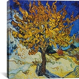 Mulberry Tree by Vincent Van Gogh Canvas Print #1317