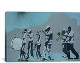 Musicians By Banksy Canvas Print #2054