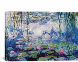 Nympheas By Claude Monet Canvas Print #327