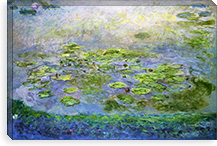 Nympheas (Waterlilies), 1917 By Claude Monet Canvas Print #15141