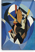 On a Sailboat, 1916 By Albert Gleizes Canvas Print #15332