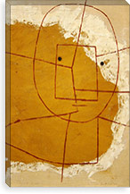 One Who Understands, 1934 By Paul Klee Canvas Print #15237