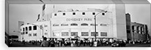 People outside a baseball park, old Comiskey Park, Chicago, Cook County, Illinois, USA #PIM8206