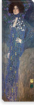 Portrait of Emilie Floge By Gustav Klimt Canvas Print #14039