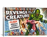 Revenge of The Creature Vintage Movie Poster Canvas Print #5129