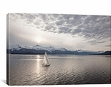 Sailing at Sunset, Alaska �09 by Monte Nagler Canvas Print #7311