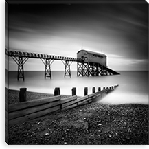 Selsey Lifeboat Station II By Nina Papiorek Canvas Print #11667
