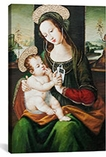 Silent Night Madonna With Child And Ipod By Banksy Canvas Print #2110
