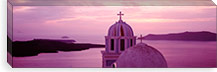 Silhouette Of A Church, Santorini Church, Greece #PIM2170