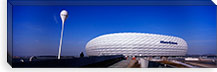 Soccer stadium in a city, Allianz Arena, Munich, Bavaria, Germany #PIM5503