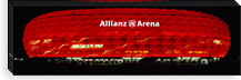 Soccer Stadium Lit Up At Night, Allianz Arena, Munich, Germany #PIM5070
