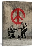 Soldiers Painting Peace by Banksy #2061