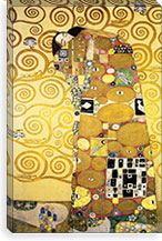 Stoclet Palace By Gustav Klimt Canvas Print #14048