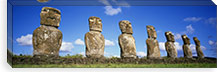 Stone Heads, Easter Islands, Chile #PIM4529