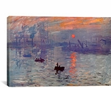 Sunrise Impression By Claude Monet Canvas Print #310
