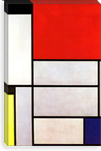 Tableau l, 1921 By Piet Mondrian Canvas Print #13568