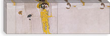 The Beethoven Frieze (The Hostile Forces) By Gustav Klimt Canvas Print #14005