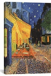 The Cafe Terrace on the Place du Forum, Arles, at Night 1888 by Vincent van Gogh Canvas Print #1009