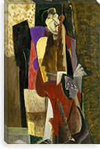The Cellist By Max Weber Canvas Print #14084