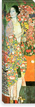 The Dancer By Gustav Klimt Canvas Print #14050