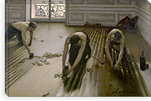 The Floor Planers By Gustave Caillebotte Canvas Print #15019