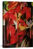 The Fox By Franz Marc Canvas Print #1825