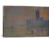 The Houses of Parliament 1902-1904 By Claude Monet Canvas Print #1037