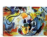 The Last Judgment by Wassily Kandinsky Canvas Print #11367