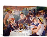 The Luncheon of the Boating Party 1881 By Auguste Renoir aka Pierre-Auguste Renoir Canvas Print #1129