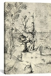 The Man Tree By Hieronymus Bosch Canvas Print #1160