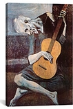 The Old Guitarist By Pablo Picasso Canvas Giclee Art Print #308