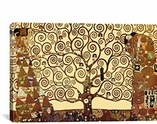 The Tree of Life By Gustav Klimt Canvas Print #1335