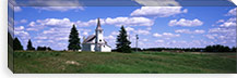 USA, South Dakota, Church #PIM2101